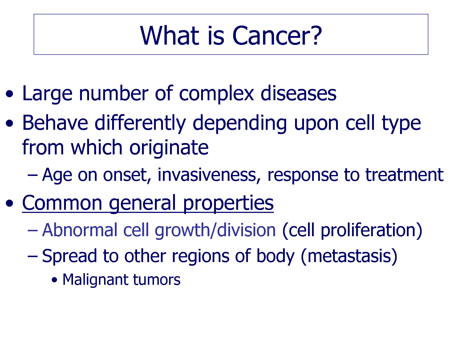 approach to care cancer essay Describe the diagnosis and staging of cancer describe at least three complications of cancer, the side effects of treatment, and methods to lessen physical.