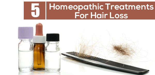Homeopathic Treatment of hair loss image