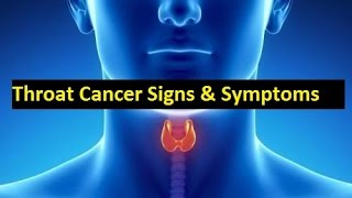 Throat Cancer Symptoms and Homeopathic Treatment